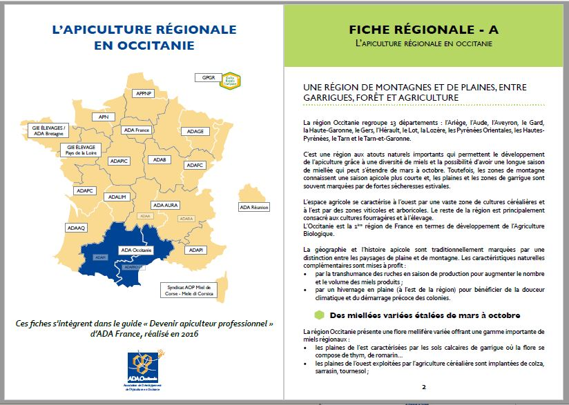Fcihes régionales